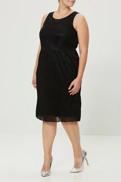 JUNAROSE Pleated Jersey Shimmer Dress - Product List Image