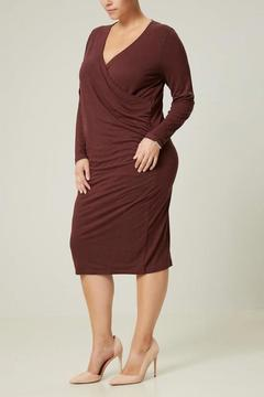 JUNAROSE Long Sleeve Jersey Dress - Product List Image