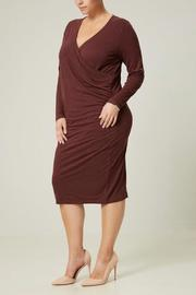 JUNAROSE Long Sleeve Jersey Dress - Product Mini Image
