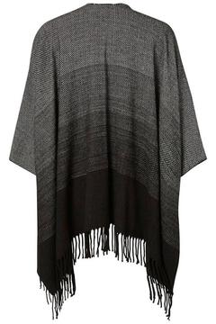 JUNAROSE Ombre Effect Poncho - Alternate List Image