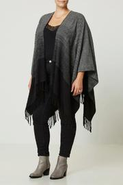 JUNAROSE Ombre Effect Poncho - Product Mini Image
