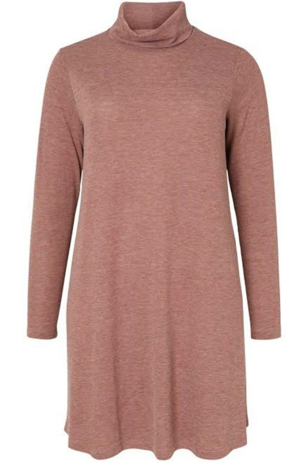 JUNAROSE Rose Sweater Dress - Front Cropped Image