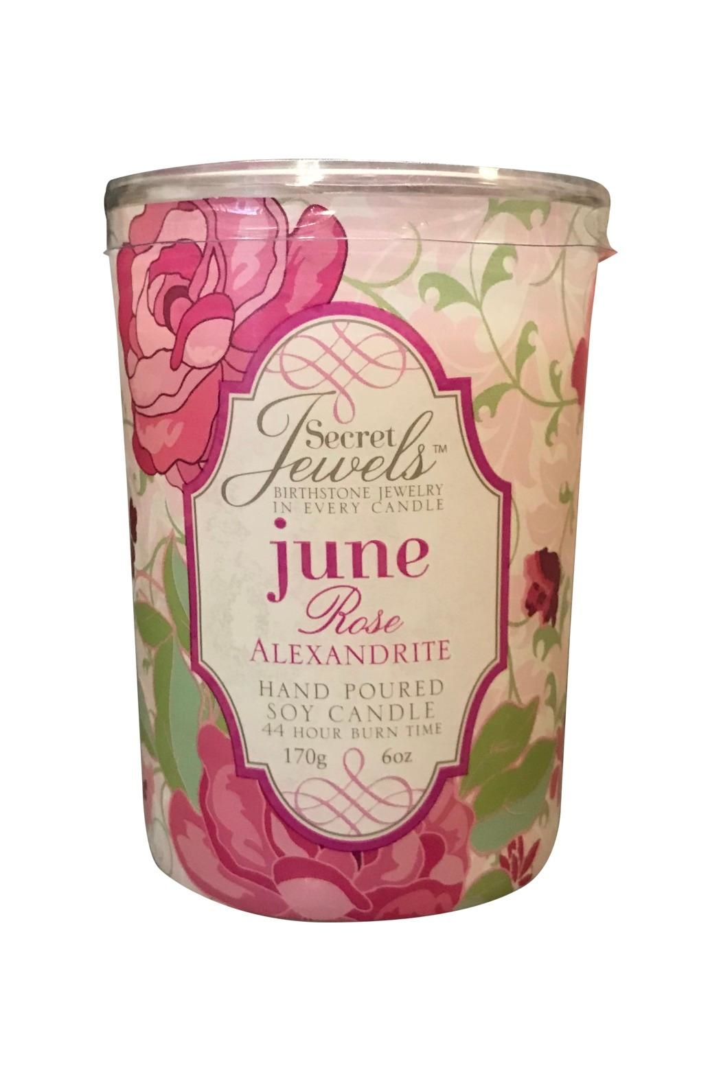 Giftcraft Inc.  June Birthstone Candle - Main Image