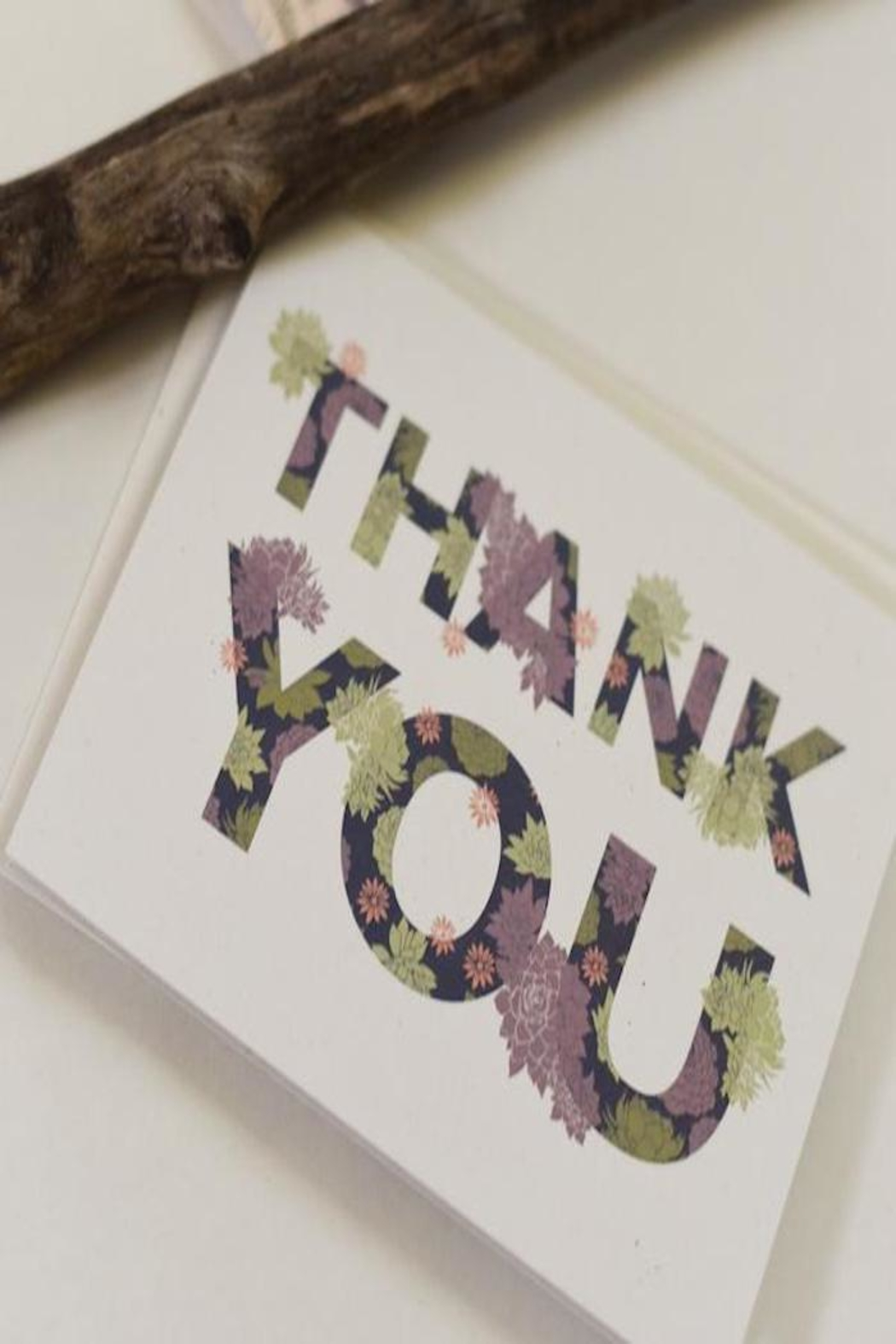 June & December Thank You Cards - Main Image
