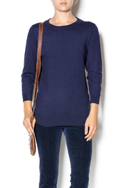 junee Elbow Patched Sweater - Product Mini Image