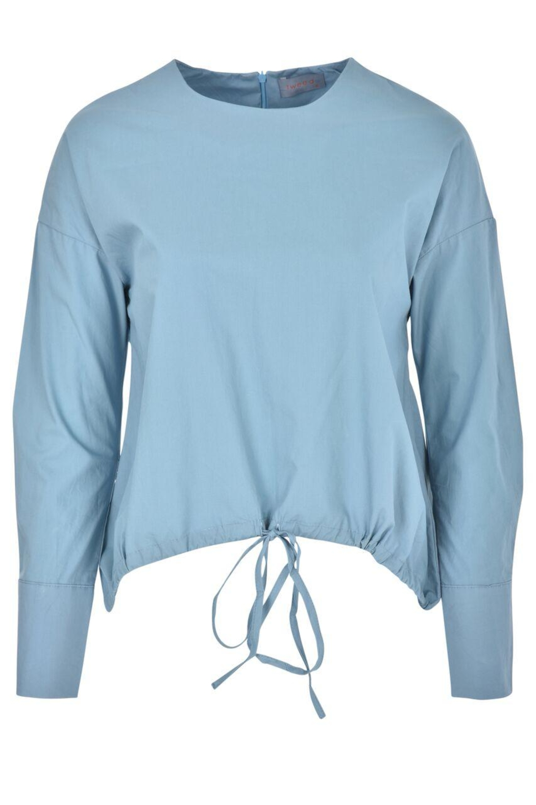 junee Front Tie Top - Front Cropped Image