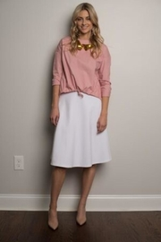 junee Front Tie Top - Front cropped