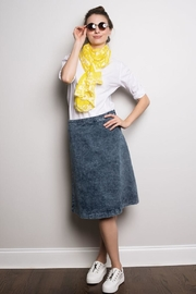 junee Short Denim Skirt - Product Mini Image
