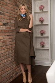 junee Side Drape Dress - Product Mini Image