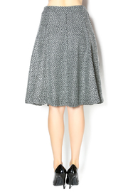 junee Wool Chevron Skirt - Back cropped