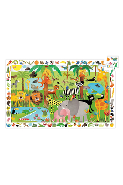 Djeco Jungle 35 Piece Observation Puzzle - Product List Image