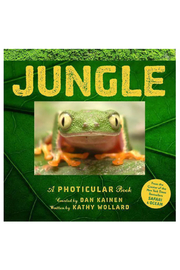 Workman Publishing Jungle: A Photicular Book - Front cropped