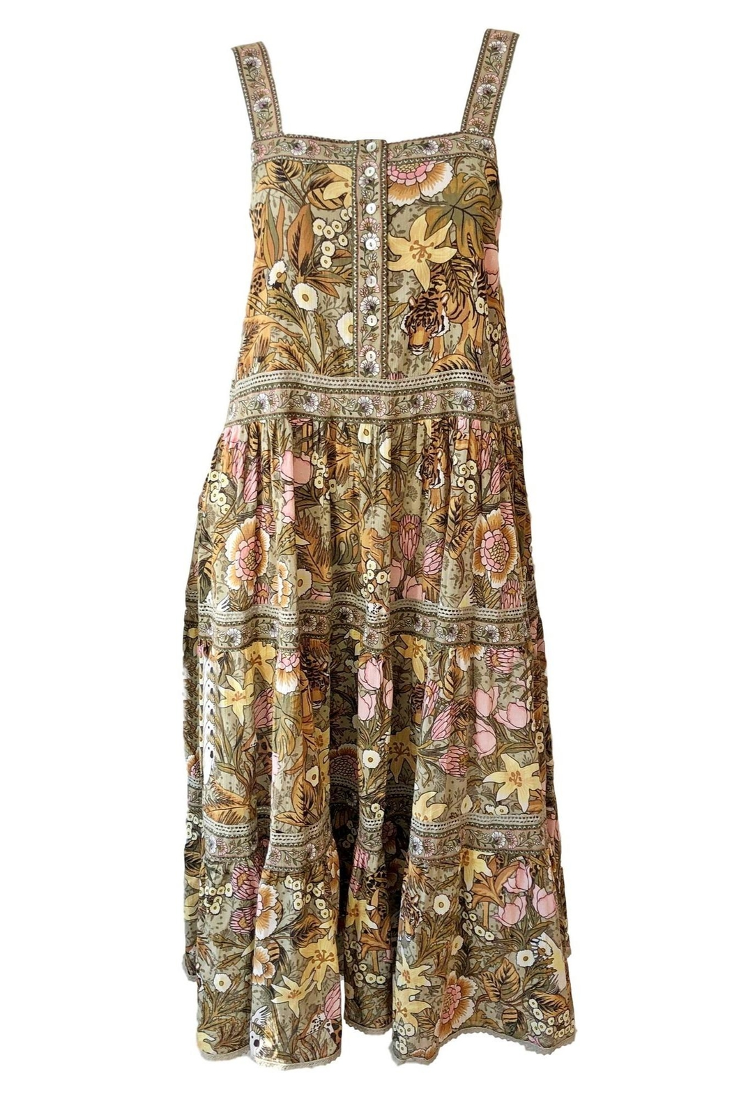 ef51af66956 Spell Designs Jungle Midi Dress from Greenville by Augusta Twenty ...