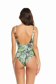 Chaser Jungle Palm One-Piece - Back cropped