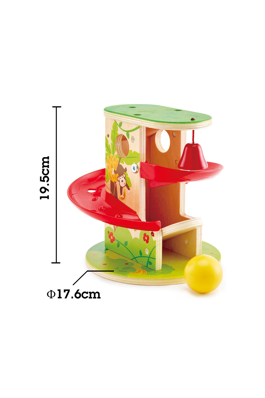 Hape Jungle Press and Slide - Side Cropped Image