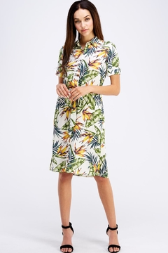 Shoptiques Product: Jungle Shirt Dress