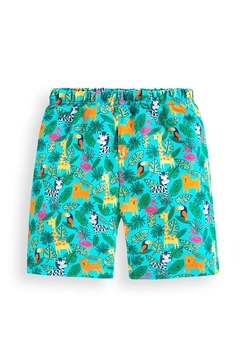JoJo Maman Bebe Jungle Swim Shorts - Alternate List Image