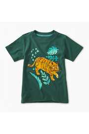 Tea Collection Jungle Tiger Graphic Tee - Front cropped