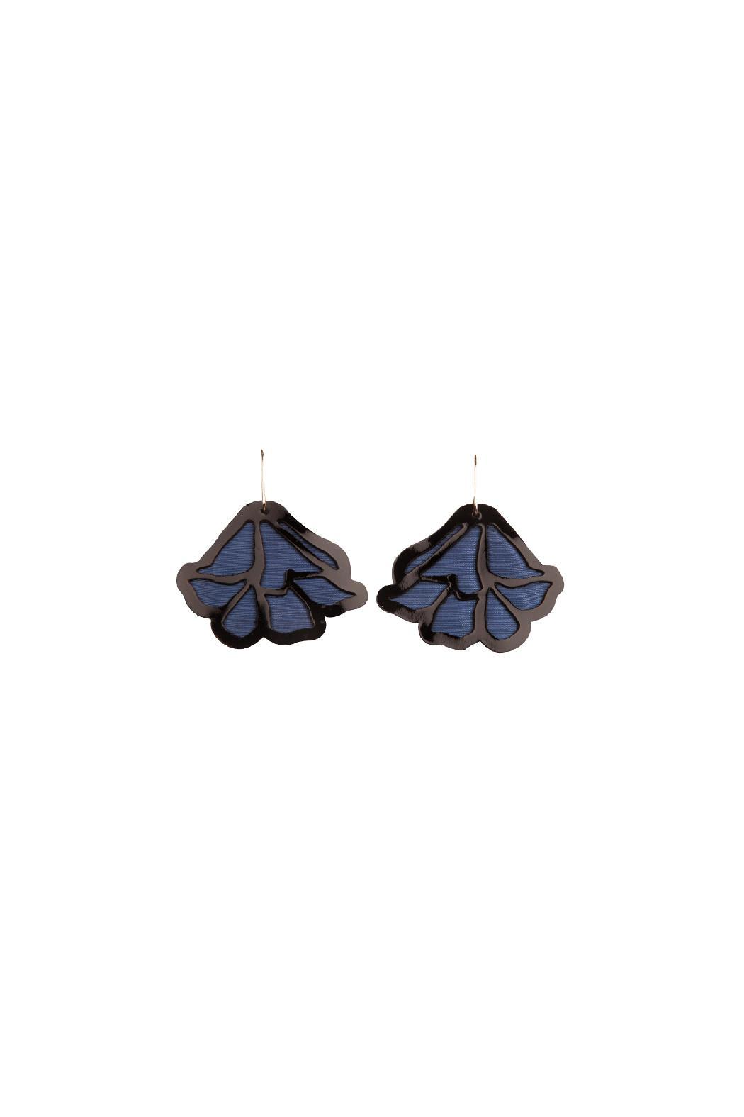 Jungle CHICk Puy Puy Earrings - Main Image
