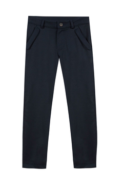 Shoptiques Product: Junior Navy Flannel Trousers