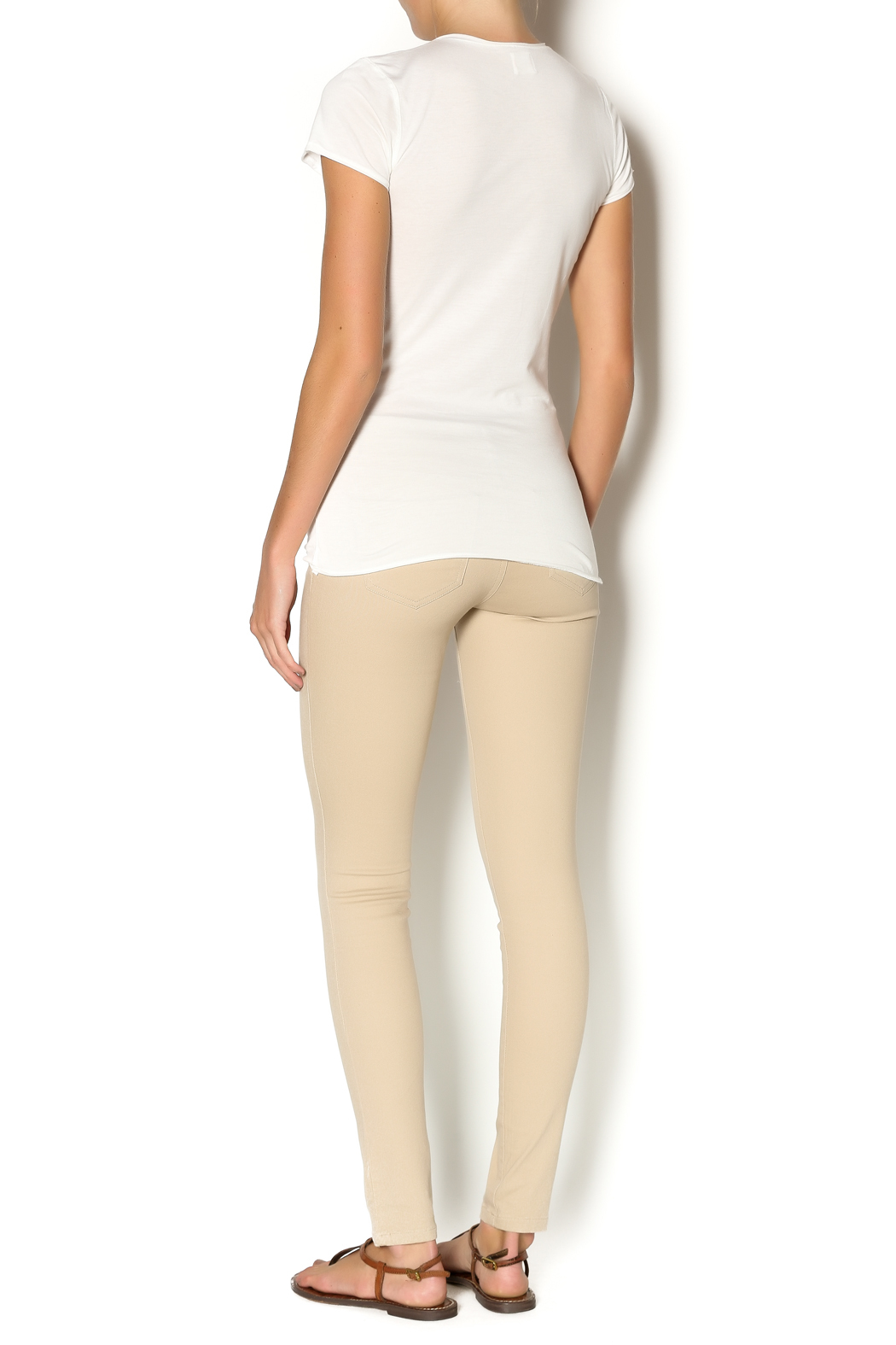 Junior Tan Skinny Jeans from Arkansas by Vintage Glam and Junque ...