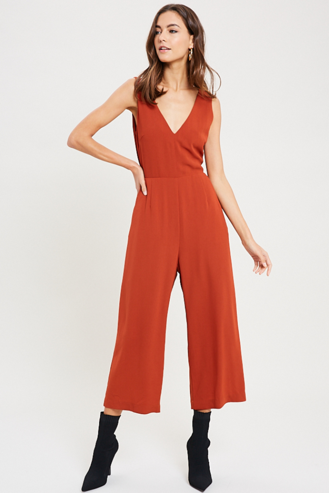 Wishlist Juniper Tie Back Jumpsuit - Main Image