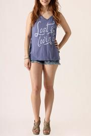 Junkfood Lost Muscle Tank - Front full body