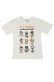 Junk Food Clothing All I Know Shirt - Product Mini Image