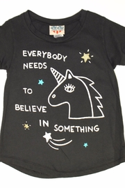 Junk Food Clothing Believe Tee - Front cropped