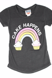 Junk Food Clothing Cake Happens - Front cropped
