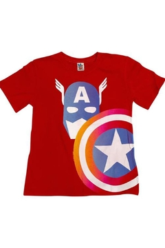 Junk Food Clothing Captain America Tee - Alternate List Image