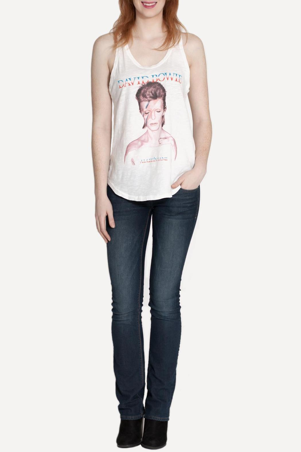Junk Food Clothing David Bowie Tank - Front Full Image