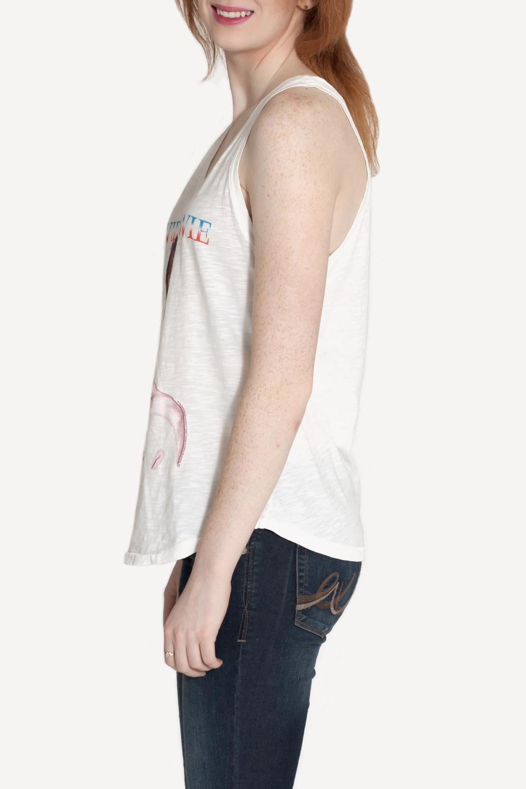 Junk Food Clothing David Bowie Tank - Side Cropped Image
