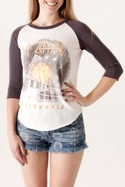 Junk Food Clothing Def Leppard Raglan - Product Mini Image