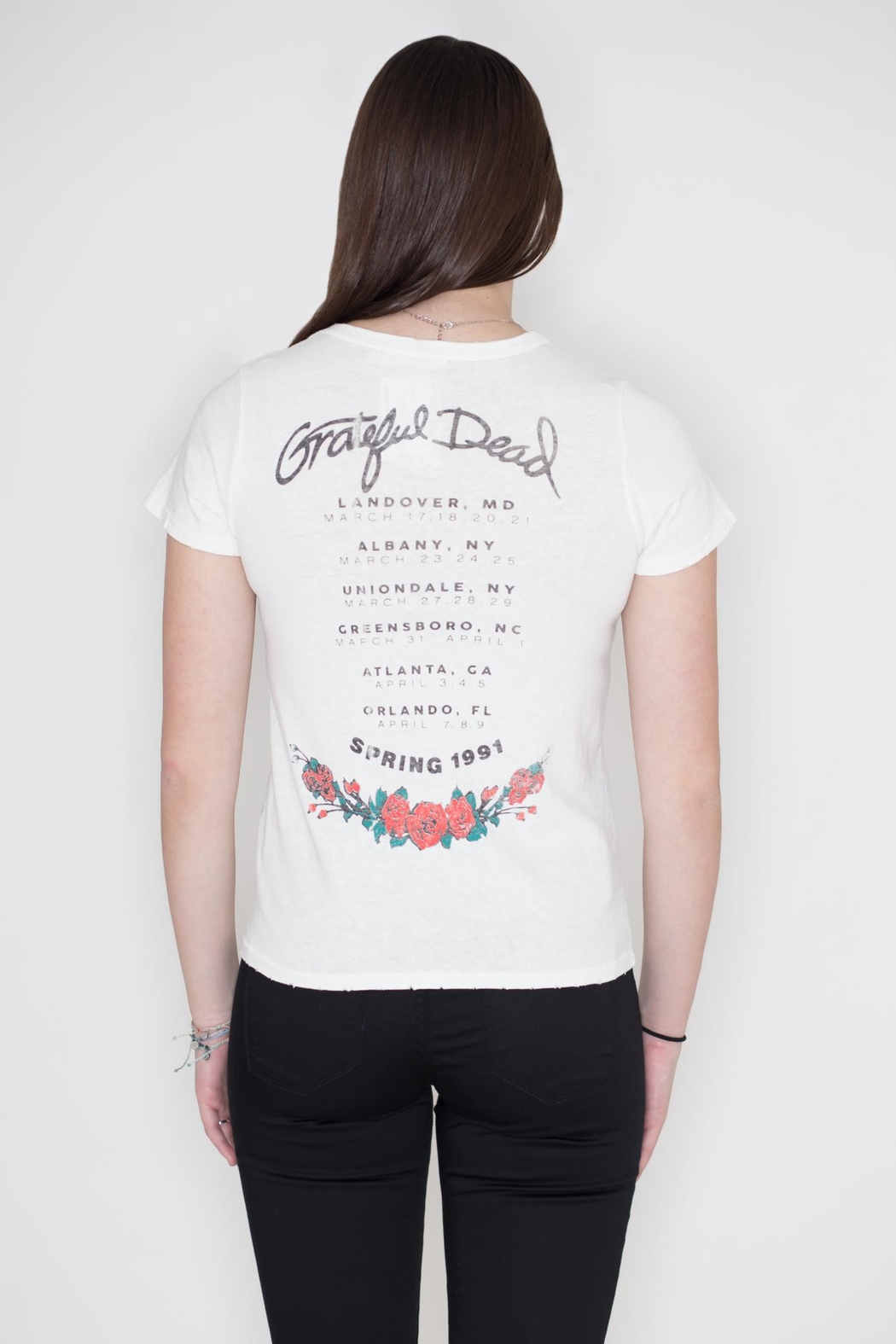 Junk Food Clothing Grateful Dead Tee - Side Cropped Image