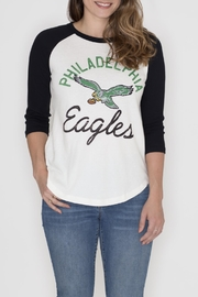 Junk Food Clothing Philadelphia Eagles Raglan Tee - Front cropped