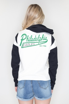 Junk Food Clothing Philadelphia Eagles Sweatshirt - Alternate List Image