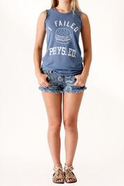 Junk Food Clothing Phys Ed Tank - Front full body