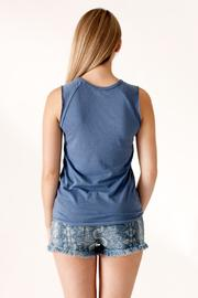 Junk Food Clothing Phys Ed Tank - Back cropped