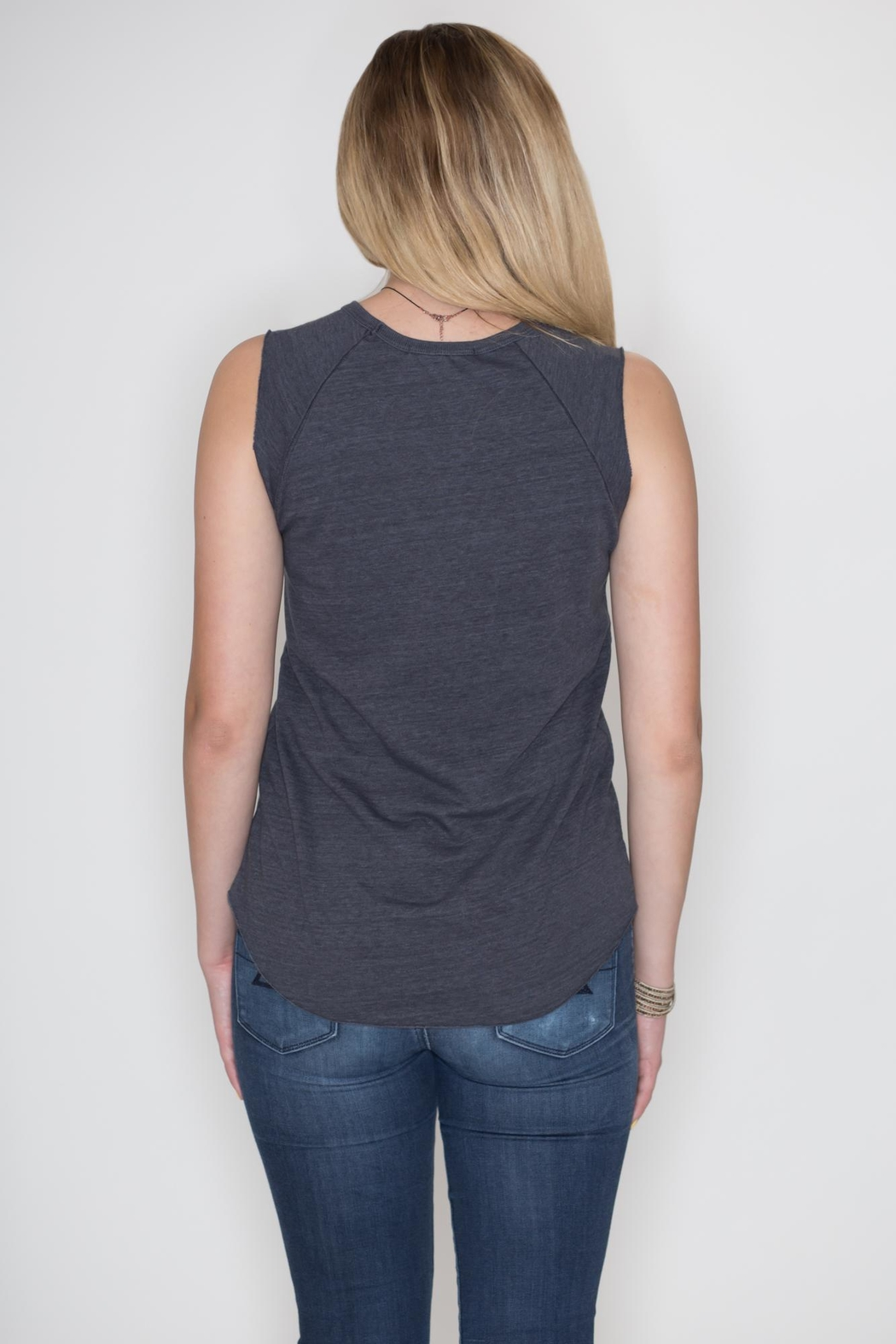 Junk Food Clothing Rock Tank Top - Side Cropped Image