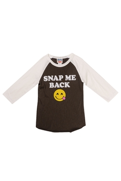 Junk Food Clothing Snap Me Back Top - Alternate List Image