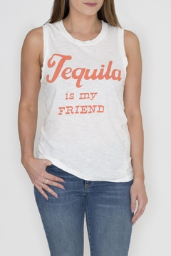 Junk Food Clothing Tequila Tank Top - Product List Image