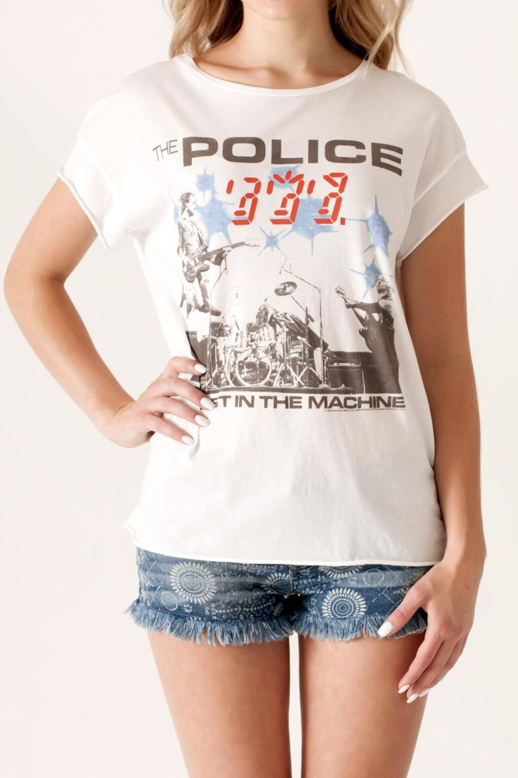 Junk Food Clothing The Police Tee - Front Cropped Image