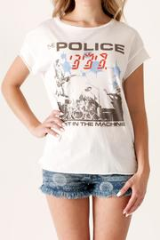 Junk Food Clothing The Police Tee - Product Mini Image