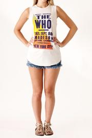 Junk Food Clothing The Who Tank - Front full body