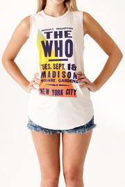 Junk Food Clothing The Who Tank - Product Mini Image