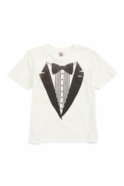 Junk Food Clothing Tuxedo Suit Tee - Front cropped
