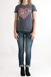 Junk Food Clothing Vintage Love Tee - Front full body