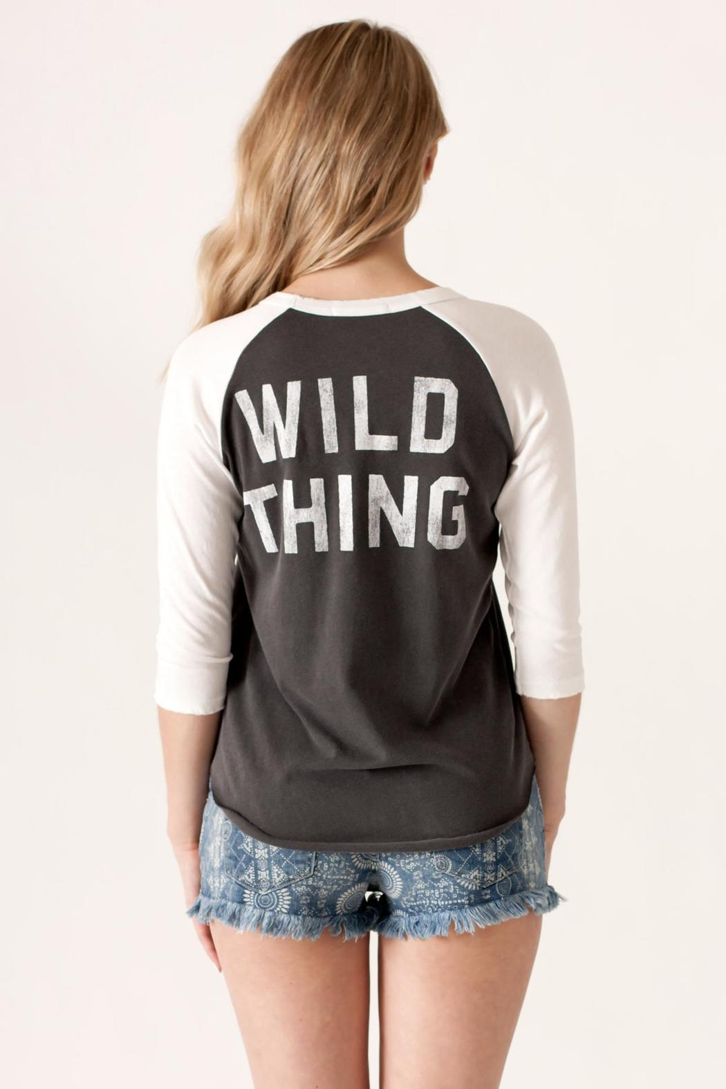 Junk Food Clothing Wild Thing Raglan - Back Cropped Image