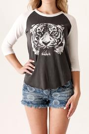 Junk Food Clothing Wild Thing Raglan - Front cropped